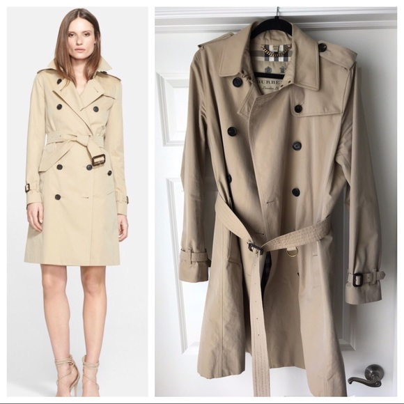 Burberry Jackets   Coats   Kensington Long Trench Coat   Poshmark ce73a21f5e7